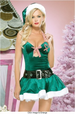 グリーンクリスマス衣装 サンタドレス コスプレ コスチューム