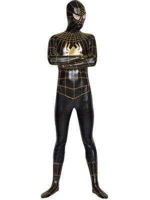 メタリック スパイダーマン 全身タイツ衣装