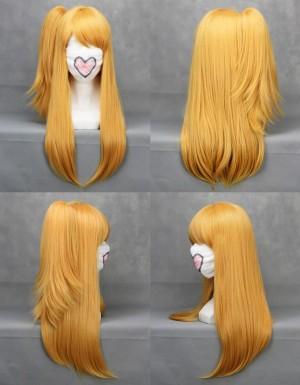 Fairy Tail ルーシィハートフィリア Lucy Heartphilia セミロングストレート コスプレウィッグ