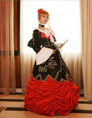Cosplayうみねこのなく頃に ベアトリーチェドレス風コスプレ衣装