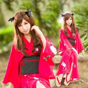 《FATE》遠坂凛 (とおさかりん)風 和服 コスプレ衣装