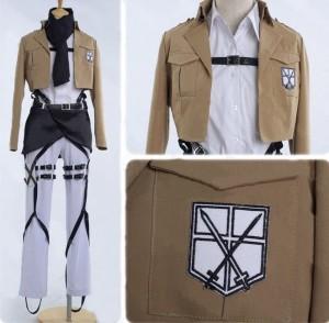進撃の巨人 ミカサ・アッカーマン風 コスプレ衣装