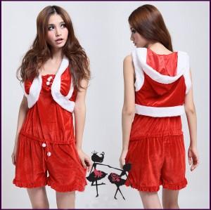 クリスマス衣装 サンタコスチューム ローズガールサンタ