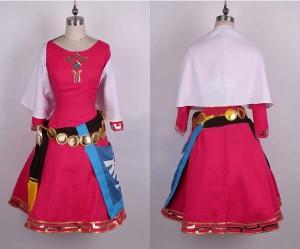 ゼルダの伝説 幼年のゼルダ姫 コスプレ 衣装
