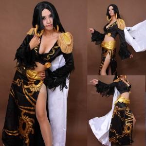 ワンピースONE PIECE 海賊女帝-ボアハンコック コスプレ衣装