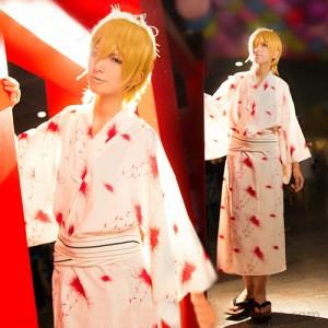 『K』(ケイ) 十束 多々良(とつか たたら) 夏祭り 浴衣 コスプレ衣装