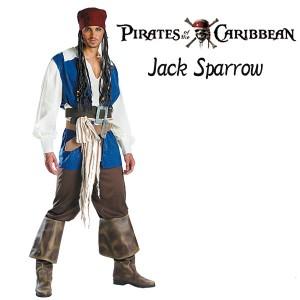 ハロウィーン 衣装 大人用 パイレーツオブカリビアン ジャック・スパロウ Jack Sparrow 海賊 コスプレ衣装