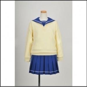 ぬらりひょんの孫 浮世絵中学校 女子制服風コスプレ衣装
