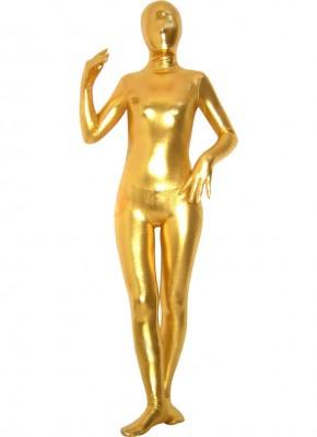 スパンデックスゼンタイフェア 全身タイツ ゴールド衣装