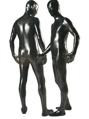 カラー全身タイツ 透明人間(ブラック)衣装