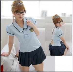 プリーツスカート 日系スクール制服 セーラー服 コスプレ衣装 魅惑 セクシー制服  ステージ衣装