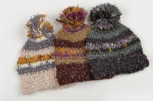 毛糸帽子マフラー2セット女あったかファッション