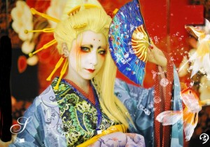 《FATE》セイバー(Saber)芸者 花魁豪華和服セット コスプレ衣装