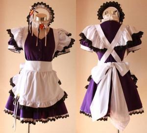 灼眼のシャナ メイド服 高品質コスプレ衣装