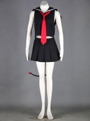 魔法先生ネギま! 長谷川千雨 セラー服 コスプレ衣装