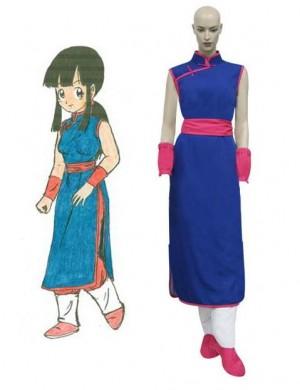 コスプレ衣装 ドラゴンボール 孫悟空の妻-チチ チャイナ風衣装