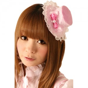 Cream dollショートケーキハット 色:ピンク サイズ:フリー