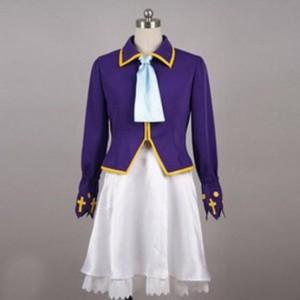 オリジナル~サンタドレス~紫ver コスプレ衣装
