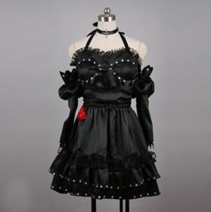 オリジナル ドレス ブラック コスプレ衣装