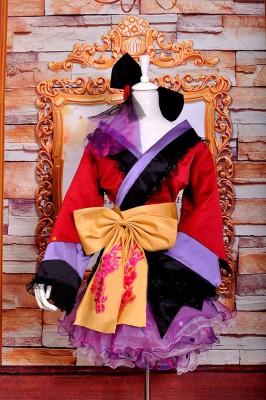 VOCALOID PROJECT DIVA2 巡音ルカ 花魁和服 おいらん コスプレ衣装