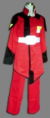 機動戦士ガンダムSEED ZAFT軍隊メンズ制服 赤 コスプレ衣装