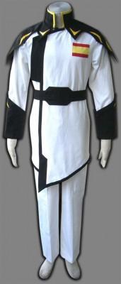 機動戦士ガンダムSEED ZAFT軍隊制服 ホワイト コスプレ衣装