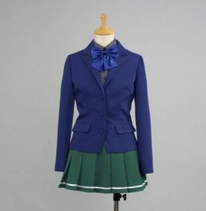 アクセル ワールド 黒雪姫(クロユキヒメ) 梅郷中学女子制服 コスプレ衣装