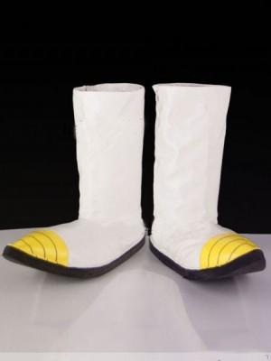 コスプレ靴ブーツ ドラゴンボール ベジータ 戦闘用靴 ホワイト