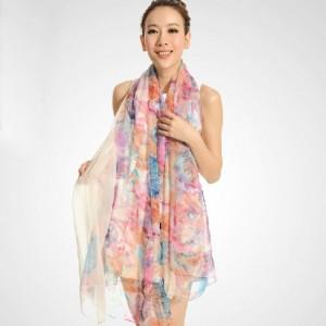 ファッションスカーフ 大判 レディース