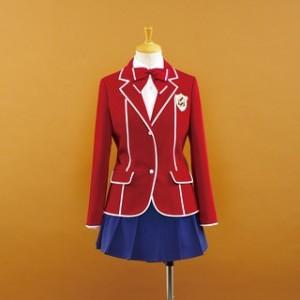ギルティクラウン 天王洲第一高校女子制服 校条祭(めんじょう はれ) コスプレ衣装