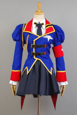 コードギアス 亡国のアキト レイラ・マルカル風 コスプレ衣装