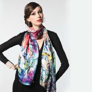 高品質 レディース ファッションスカーフ マフラー