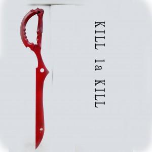 キルラキル風(KILL la KILL) 纏 流子(まとい りゅうこ) 片太刀鋏 Cosplay コスプレ アクセサリー
