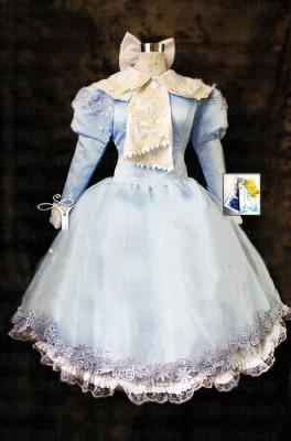 カードキャプターさくら 木之本 桜/さくら 水色ドレス コスプレ衣装