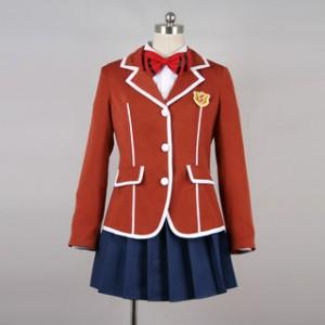 ギルティクラウン 楪いのり(ゆずりはいのり) 制服 コスプレ衣装