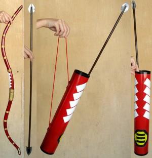 コスプレ道具 戦国BASARA3 鶴姫の武器 弓