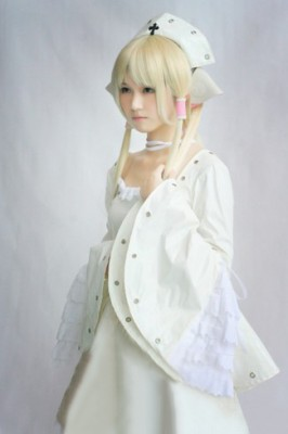 Chobitsちょびっツ ちぃちゃん エナメル革のドレス コスプレ衣装