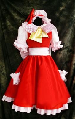 東方Project 吸血鬼お嬢様 フランドール コスプレ衣装