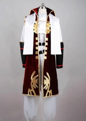 戦国BASARA(戦国バサラ) 長曾我部元親(ちょうそかべ もとちか) コスプレ衣装