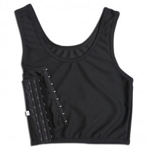 激安の胸つぶし ナベシャツ 3段フック式 Bホルダー