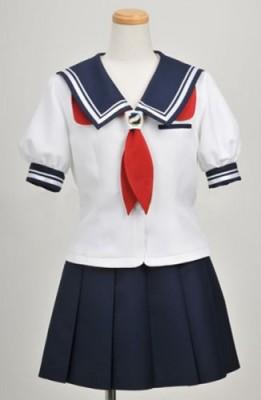フォトカノ 夏季 光河学園女子制服風 コスプレ衣装