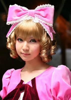 ローゼンメイデン(Rozen Maiden) 雛苺(ひないちご/Kleine Beere) 耐熱ウィッグ コスプレ