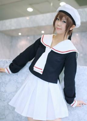 カードキャプターさくら 私立友枝小学校制服 コスプレ衣装 友枝小学校女子制服