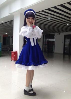 高品質コスプレ衣装 カードキャプターさくら 大道寺知世(だいどうじ ともよ)風 コスチューム