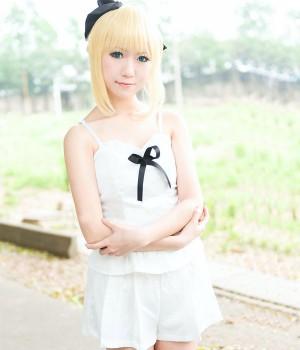 Fate/stay night Saber Lily 遠坂凛 日常服 コスプレ衣装