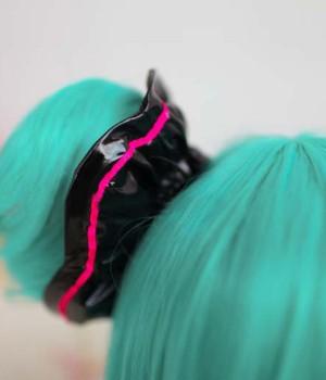 VOCALOID Project DIVA- F 初音ミク 髪飾り コスプレ道具