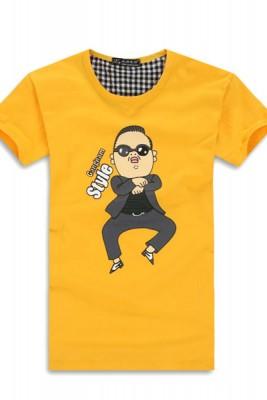 特価ファッション個性的メンズTシャツ ダンスTシャツ イタズラ