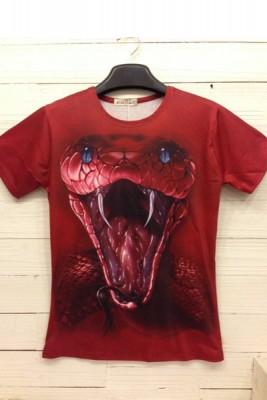 3DTシャツ 動物イタズラTシャツ おもしろいTシャツ 半袖Tシャツ