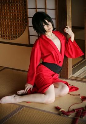 艶漢 吉原詩郎(よしわら しろう) 赤和服浴衣 コスプレ衣装 艷漢