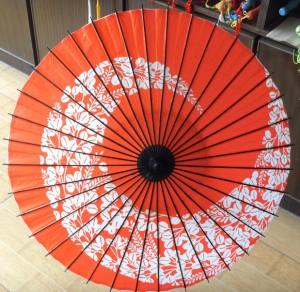 ダンス用の和傘 番傘 紙傘 コスプレ道具